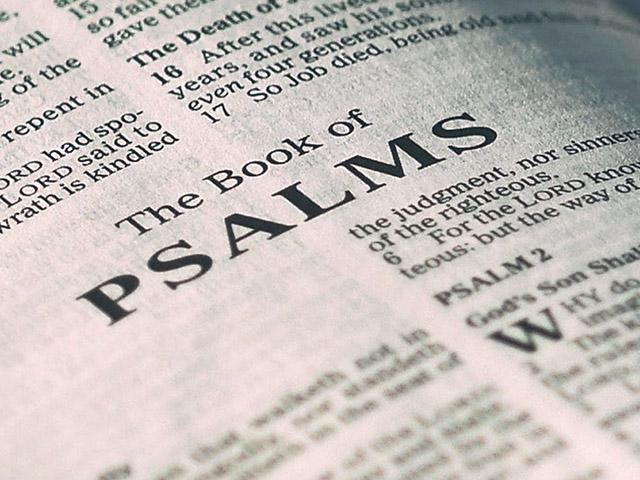 What I Learned From Studying Through the Psalms